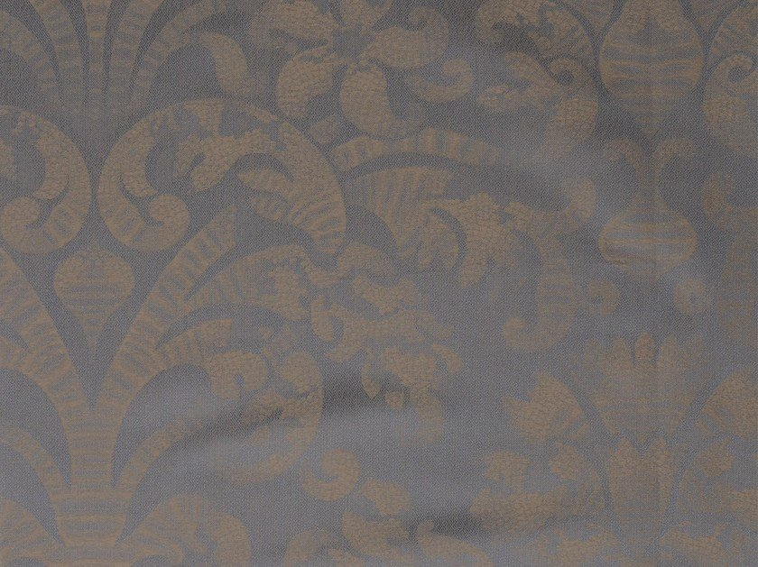 Damask cotton fabric GALUCHAT - KOHRO