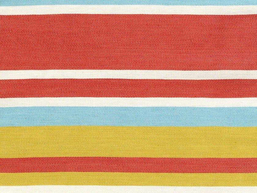 Striped fabric CARIOCA 6 by KOHRO