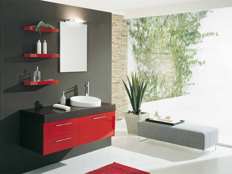 Lacquered vanity unit with drawers GENIUS G206 - LEGNOBAGNO