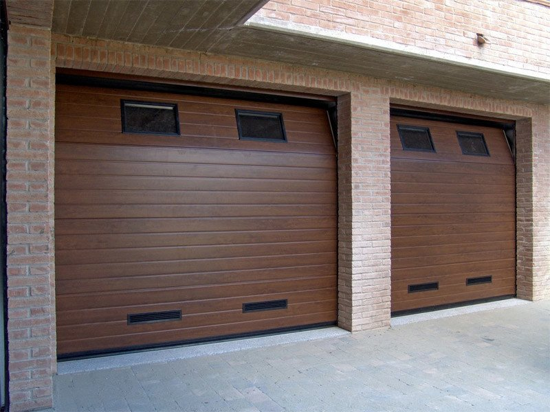 Galvanized steel garage door CPS RL42 | Garage door - BREMET CHIUSURE TECNICHE