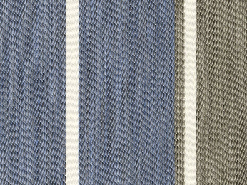 Striped fabric GUADALUPE - KOHRO