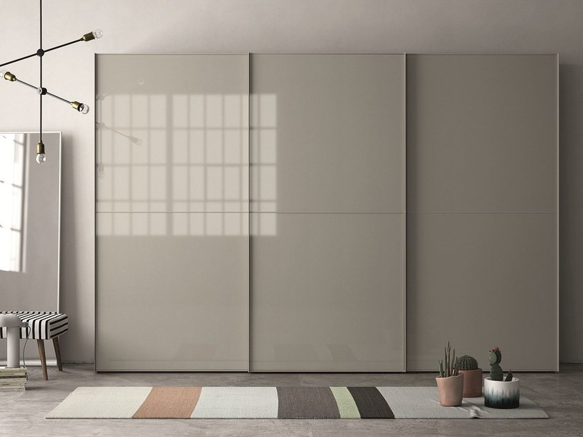 Lacquered wardrobe with sliding doors EMOTION SCORREVOLE 15 - Dall'Agnese