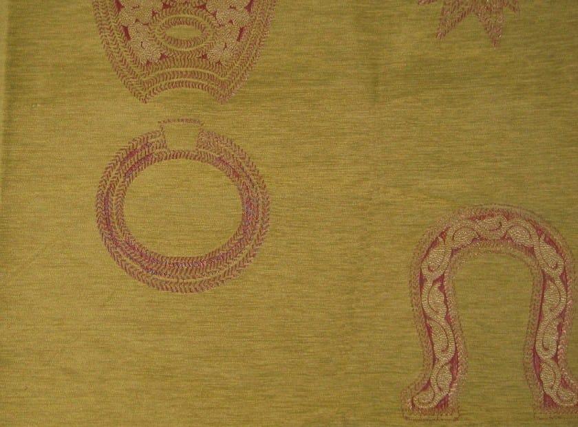 Cotton fabric with graphic pattern HIDALGO - KOHRO