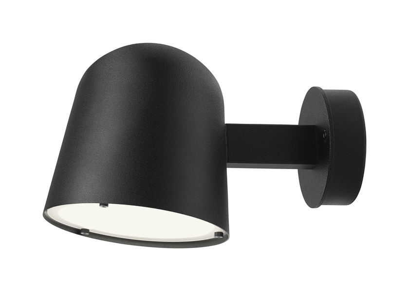 LED steel wall lamp CONVEX | Wall lamp - ZERO