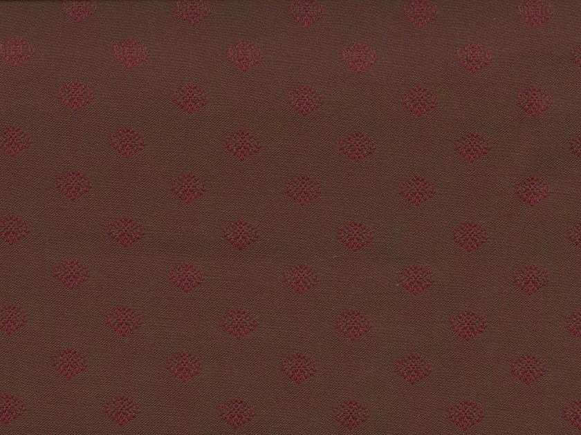 Washable fabric with graphic pattern DARJEELING GARDEN - KOHRO
