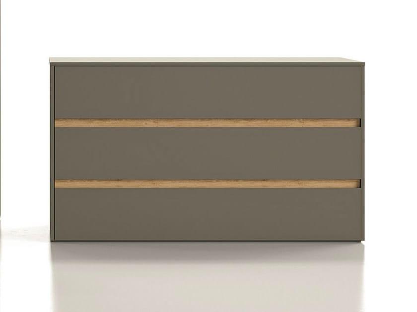 Lacquered dresser ZIP | Dresser - Dall'Agnese