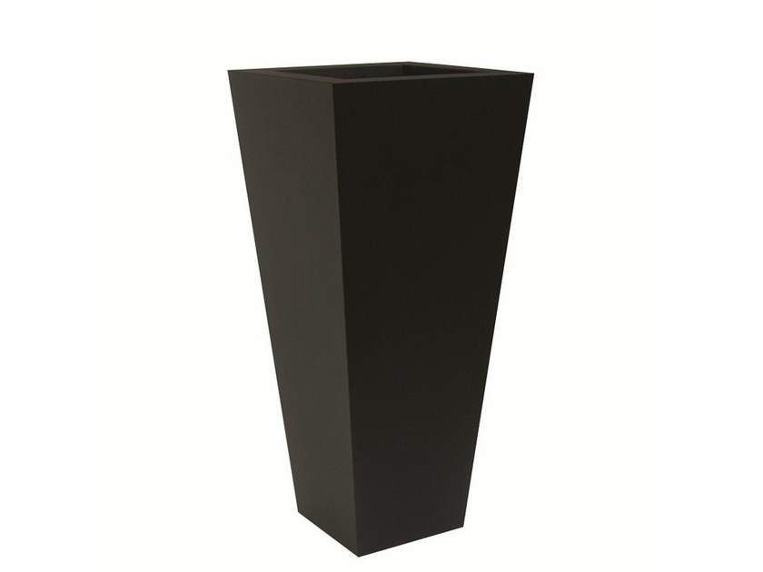 Iron vase POT-L-RAL - Vela Arredamenti