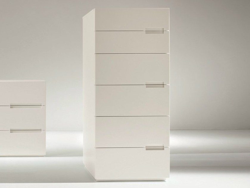 Lacquered chest of drawers ASOLA | Lacquered chest of drawers - Dall'Agnese