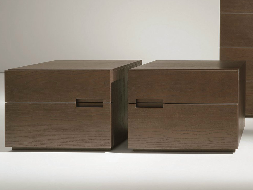 Oak bedside table with drawers ASOLA | Oak bedside table - Dall'Agnese