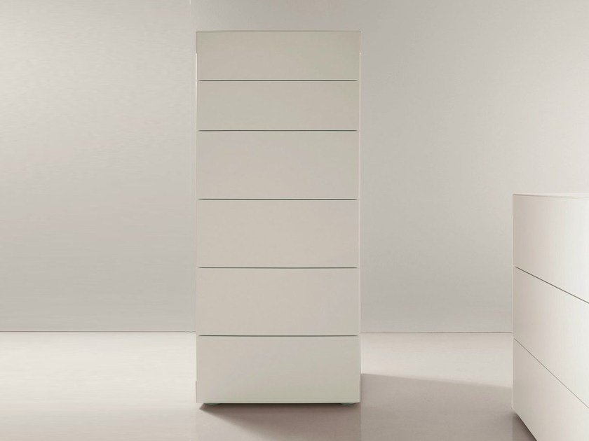 Lacquered chest of drawers BLADE | Chest of drawers by Dall'Agnese