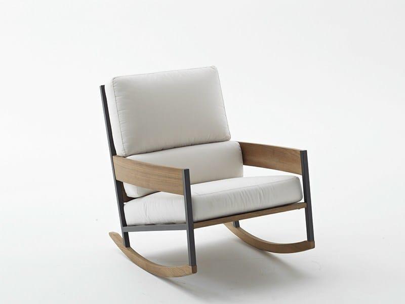 Rocking garden armchair NAP | Rocking garden armchair - RODA