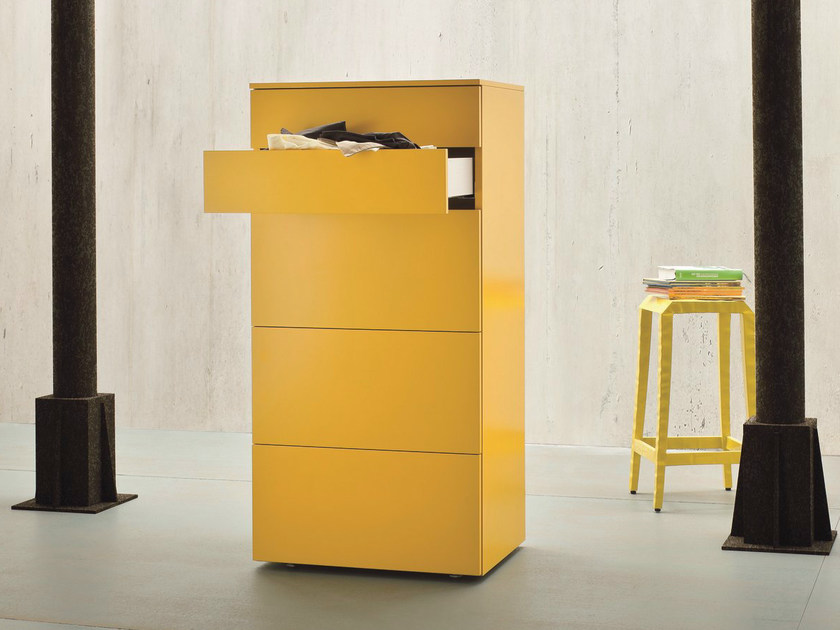 Lacquered chest of drawers SLIM | Chest of drawers - Dall'Agnese