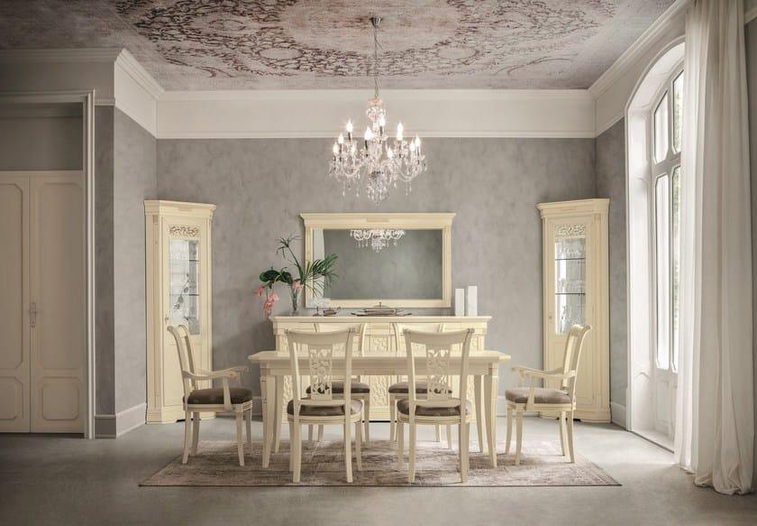 Specchio rettangolare con cornice tiffany specchio dall agnese - Dall agnese mobili classici ...