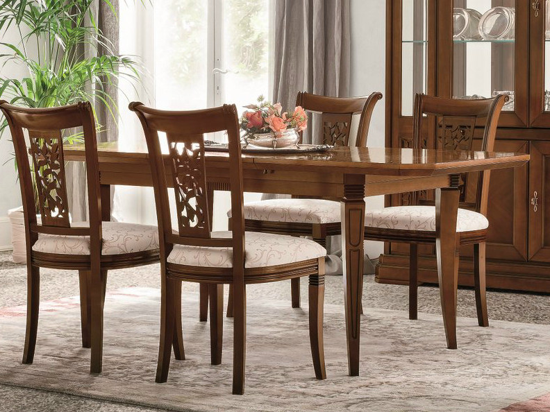 Extending walnut table TIFFANY | Walnut table - Dall'Agnese