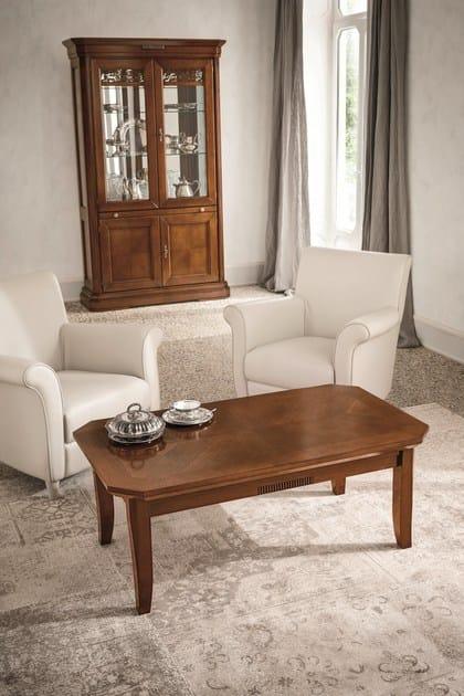 Tavolino basso in noce da salotto tiffany tavolino in noce dall agnese - Dall agnese mobili classici ...