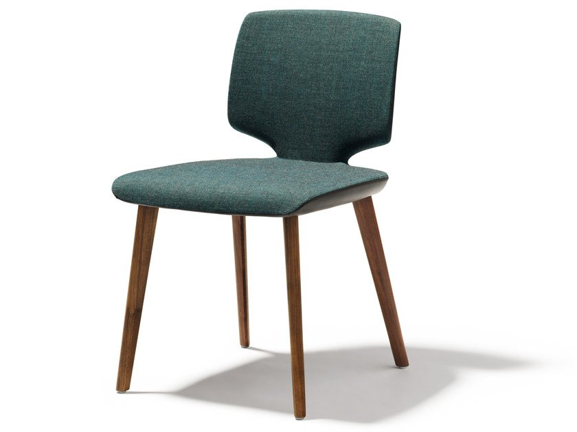 Upholstered fabric chair AYE | Fabric chair by TEAM 7