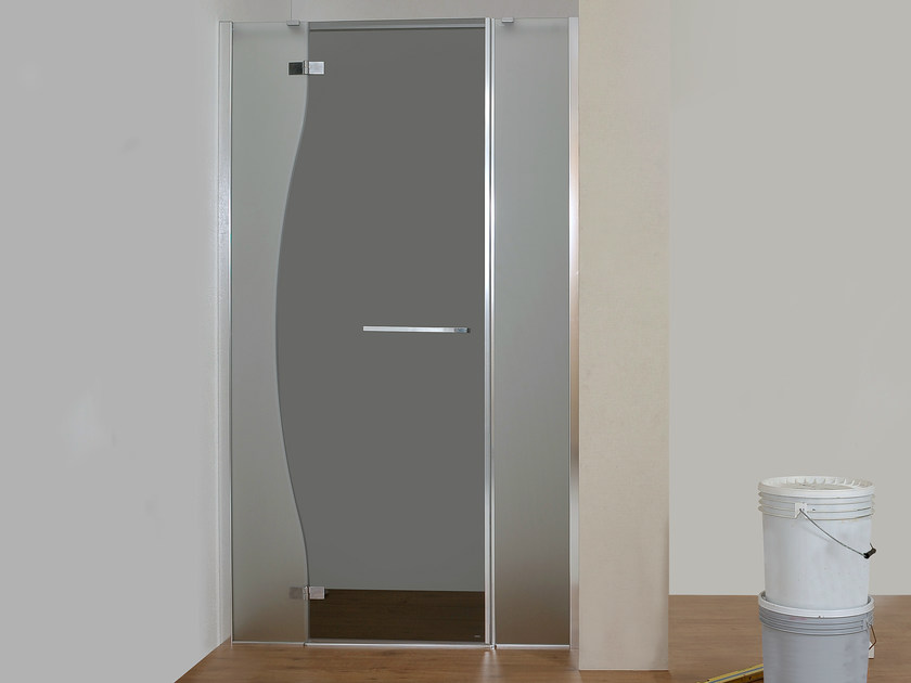 Niche glass shower cabin CHIAROSCURO   Niche shower cabin - MEGIUS
