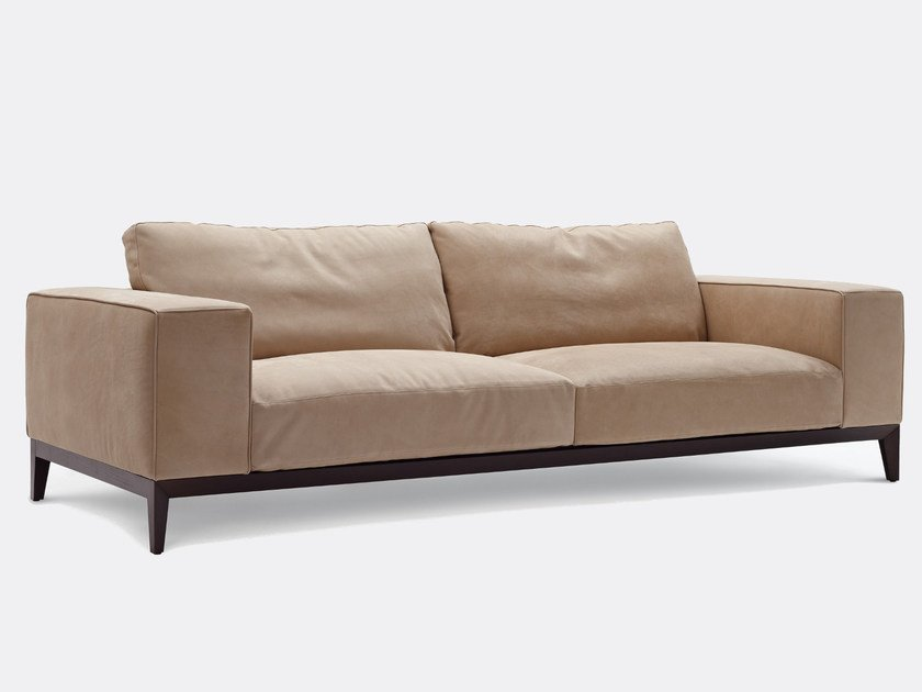 Leather sofa HERRY | Leather sofa - Nube Italia