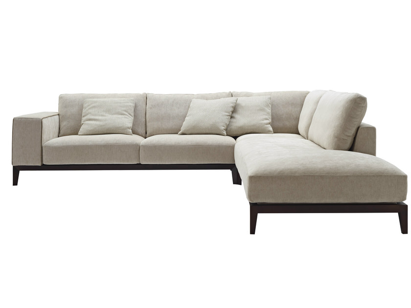 Divano angolare componibile in tessuto herry divano in tessuto nube italia - Divano componibile angolare ...