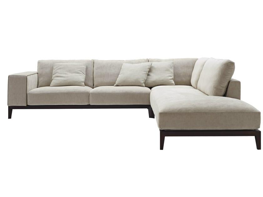Corner sectional fabric sofa HERRY | Fabric sofa - Nube Italia