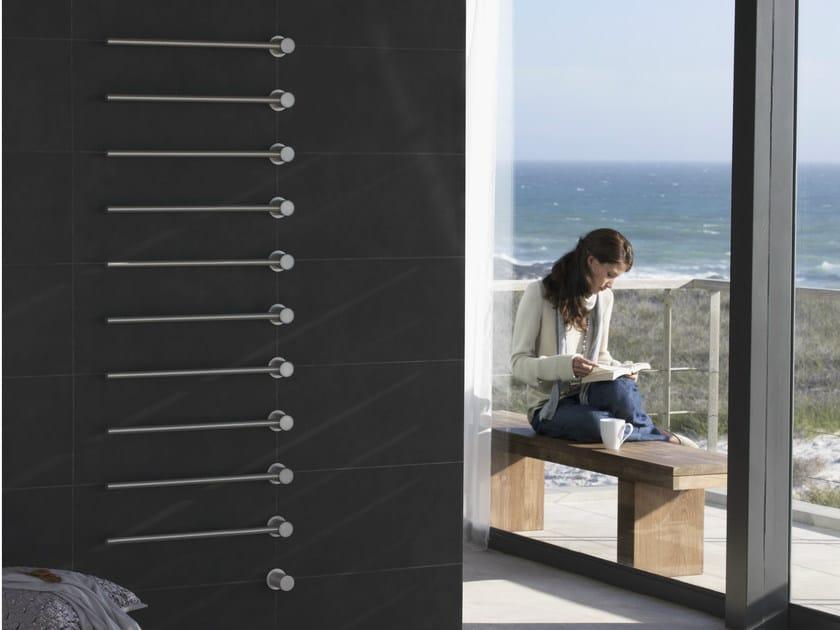 Vertical towel warmer T39EL | Towel warmer - VOLA