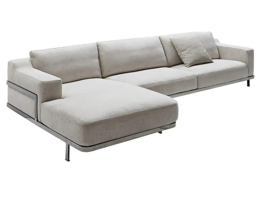 Odilon divano componibile by nube italia design marco corti - Divano componibile angolare ...