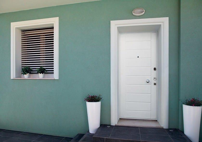 Porta d 39 ingresso blindata con serratura elettronica - Porte scorrevoli blindate ...
