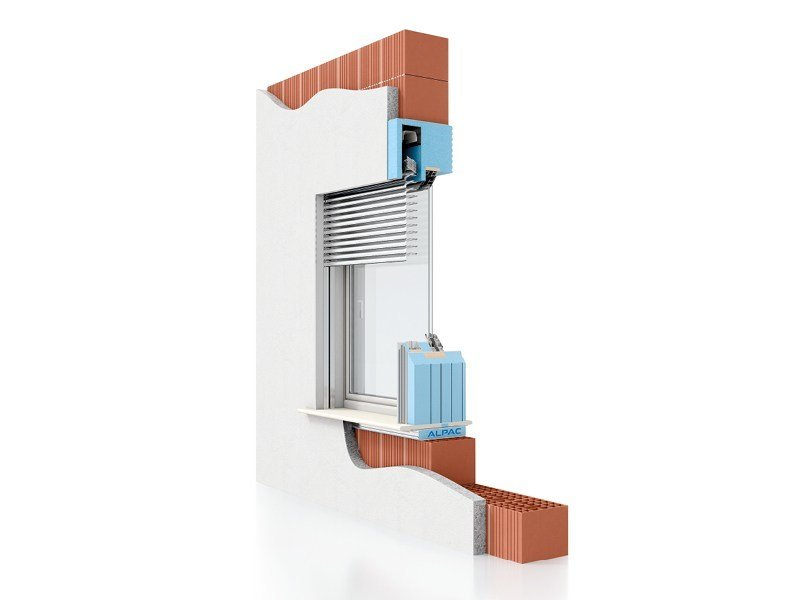Insulating window system PRESYSTEM Frangisole - ALPAC S.r.l. Unipersonale