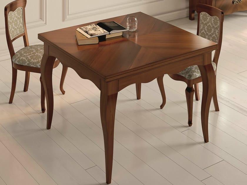 Square walnut table SYMFONIA | Walnut table - Dall'Agnese