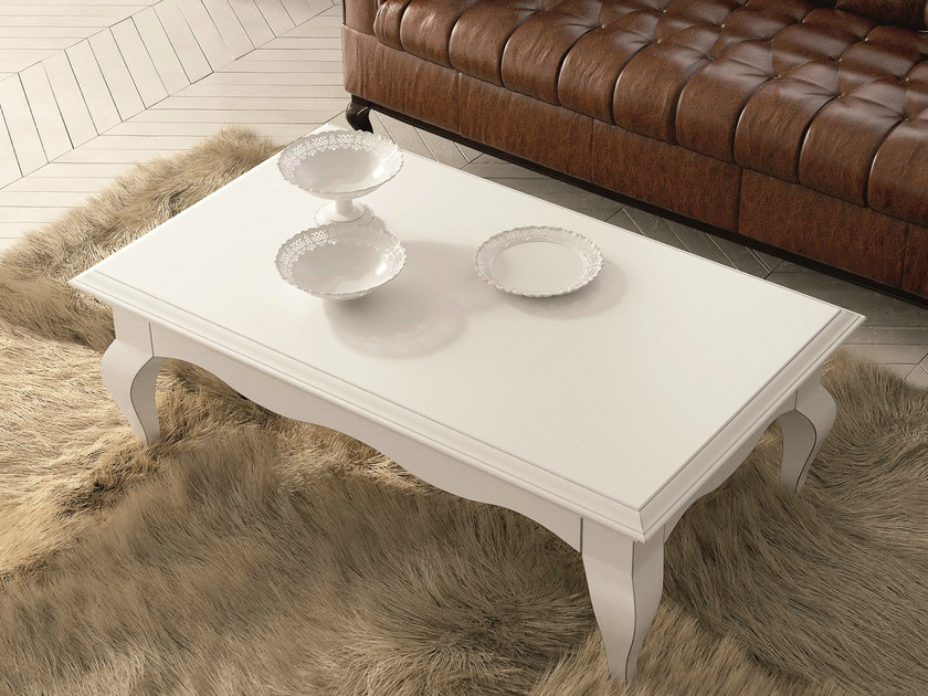 Low lacquered coffee table for living room SYMFONIA | Lacquered coffee table by Dall'Agnese