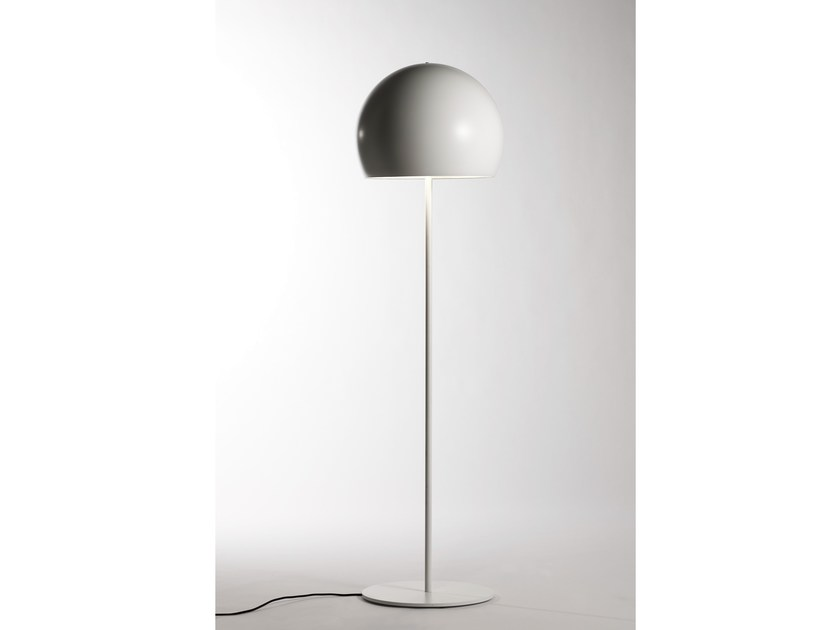 Direct light aluminium floor lamp LALAMPADA | Floor lamp - Opinion Ciatti