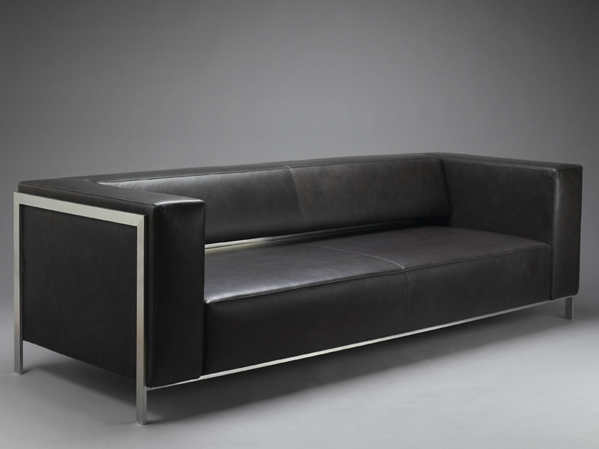 Leather sofa HATT | Sofa - mminterier