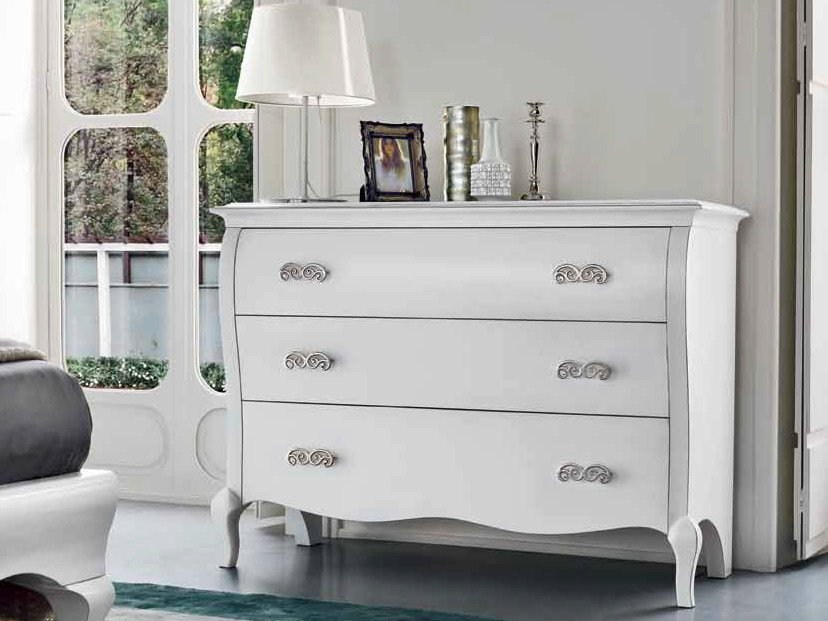 Lacquered dresser SYMFONIA | Lacquered dresser - Dall'Agnese