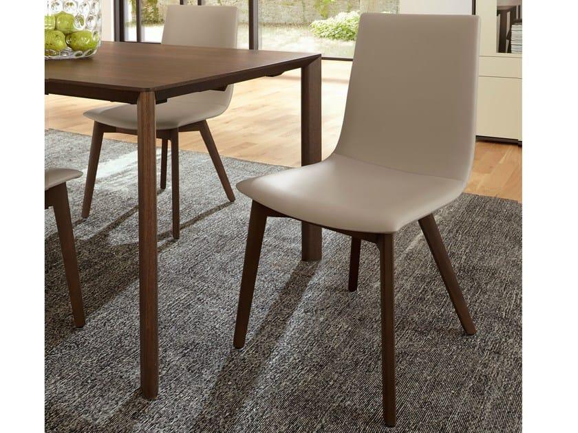Leather chair D27 | Chair - Hülsta-Werke Hüls