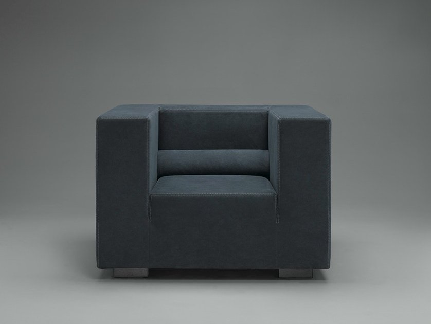 Club fabric armchair FRONDÒ | Armchair - mminterier