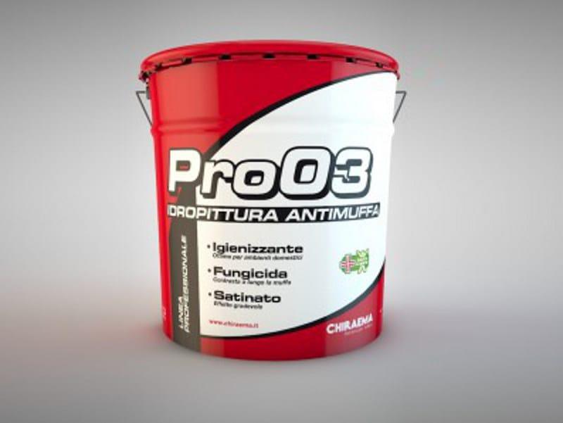 Washable water-based paint PRO 03 - CHIRAEMA