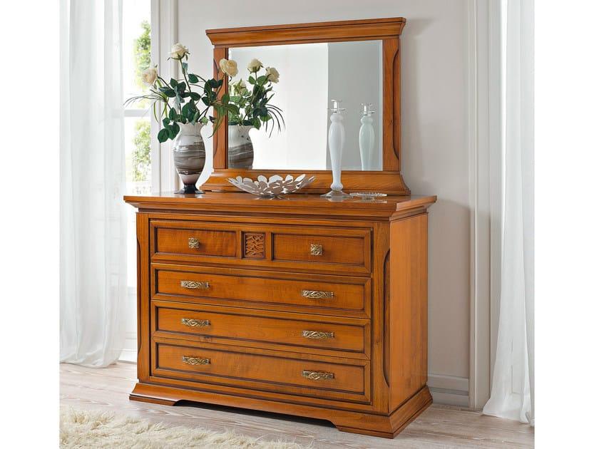 Cherry wood dresser BOHEMIA | Dresser - Dall'Agnese