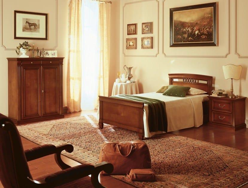 Armadio basso in ciliegio venezia armadio basso dall agnese - Camera da letto ciliegio ...