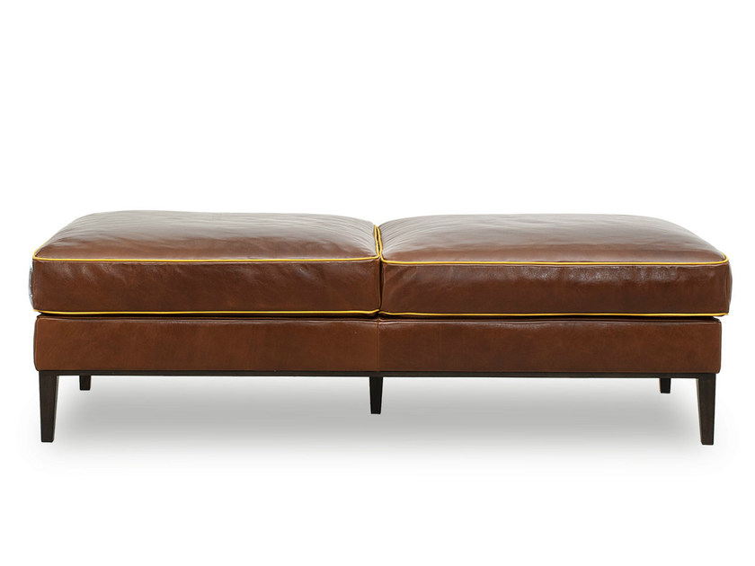 Leather bench GODARD | Bench by BAXTER