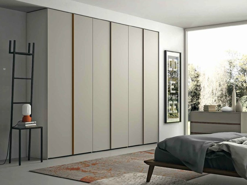 Lacquered wardrobe with folding doors EMOTION 15 - ANTA CUBO - Dall'Agnese