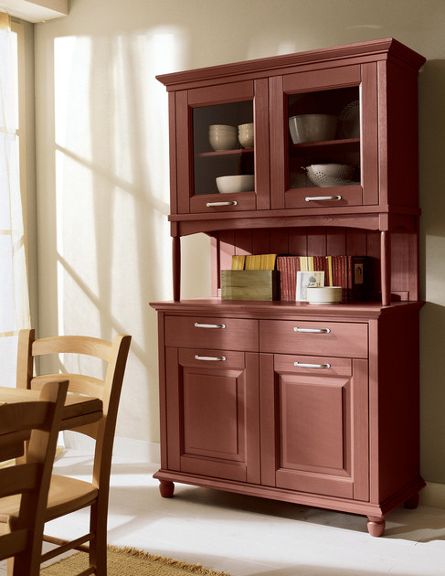 Cucina in abete con isola nuovo mondo n02 scandola mobili for Scandola mobili