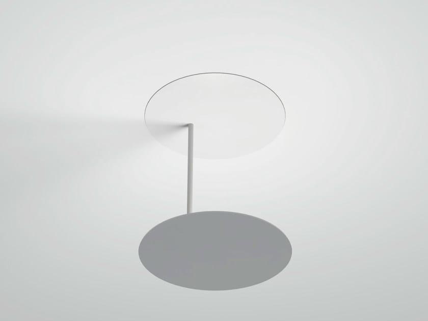 LED aluminium ceiling lamp MILLELUMEN CIRCLES   Aluminium ceiling lamp by millelumen