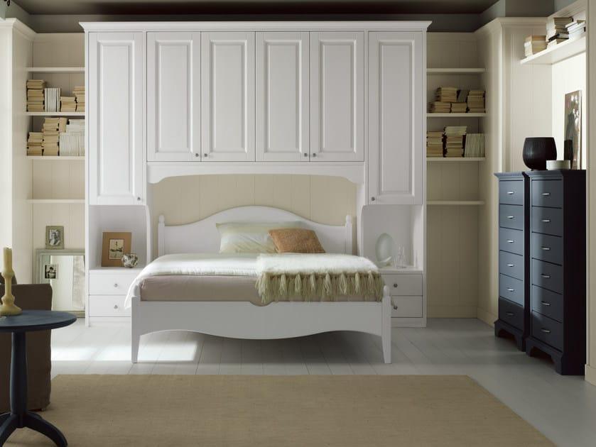Spruce bedroom set NUOVO MONDO N10 by Scandola Mobili