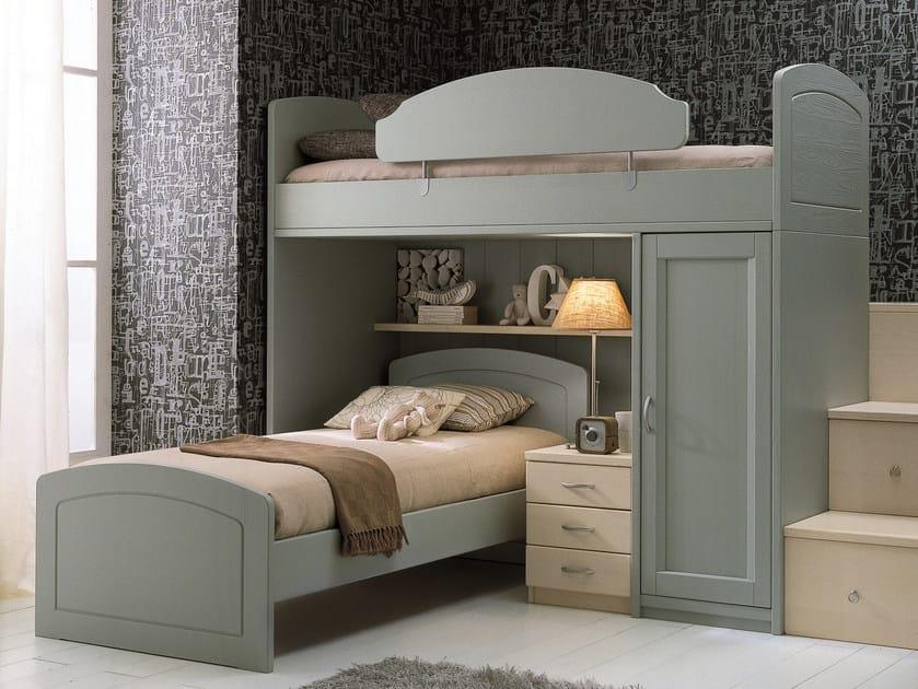 Loft bedroom set for boys girls nuovo mondo n16 by for Scandola mobili
