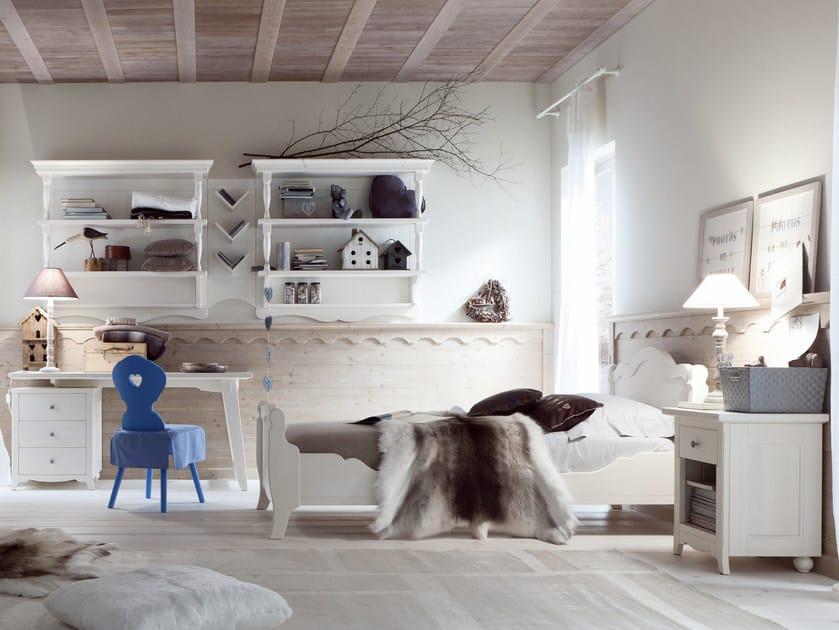 Wooden bedroom set for boys/girls TABIÀ T05 - Scandola Mobili