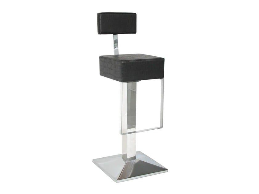 Upholstered counter stool SG017FCR | Counter stool - Vela Arredamenti