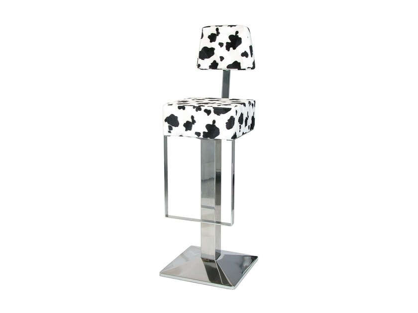 Upholstered counter stool SG019FCR | Counter stool - Vela Arredamenti