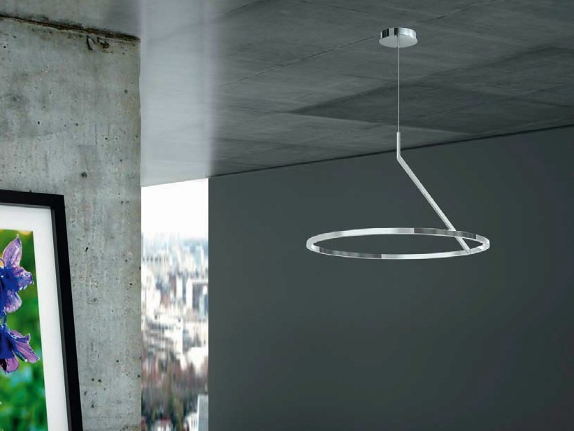 LED aluminium pendant lamp CIRCOLO INSOSPESO | Pendant lamp - Sattler