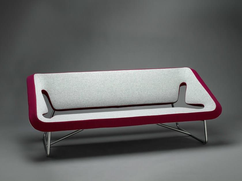 Sled base fabric sofa KOXY | Sled base sofa - mminterier