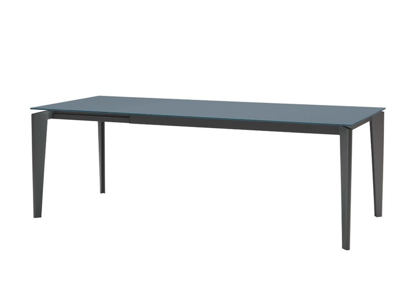 Extending rectangular table AKIL | Extending table - Midj